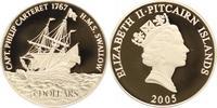 5 Dollars 2005 Pitcairn Inseln Unter Großbritannien. Polierte Platte  34,00 EUR  +  5,00 EUR shipping