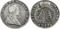 2/3 Taler 1768 Sachsen-Albertinische Linie Friedrich August III. 1763-1... 45,00 EUR  +  5,00 EUR shipping