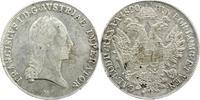 Taler 1820  M Haus Habsburg Franz II.(I.) 1792-1835. Sehr schön  70,00 EUR  +  5,00 EUR shipping