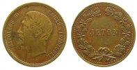 Jetons Jeton Bronze Napoleon III Kaiser der Franzosen, 19 MM