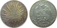 8 Reales 1894 Mexiko Ag Mo-AM, Patina vz  45,00 EUR  +  8,00 EUR shipping
