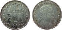 1/20 Birr 1903 Äthiopien Ag Menelik II, 1 Gersh fast ss  9,50 EUR  +  8,00 EUR shipping