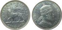 1/4 Birr 1903 Äthiopien Ag Menelik II (1889-1913), Löwe, EE1895 ss-vz  50,00 EUR  +  8,00 EUR shipping