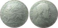 1 Birr 1903 Äthiopien Ag Menelik II (1889-1913), Löwe, EE1895 ss  84,00 EUR  +  8,00 EUR shipping