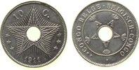 10 Centimes 1911 Belgisch Kongo KN . unz  17,00 EUR  +  8,00 EUR shipping