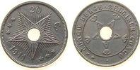 20 Centimes 1911 Belgisch Kongo KN . vz  17,00 EUR  +  8,00 EUR shipping