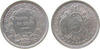 50 Centavos 1894 Bolivien Ag C.B. ss  17,00 EUR  +  8,00 EUR shipping