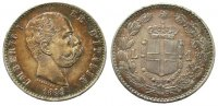Italien - Italy 1 Lire 1886 vz Ag Umberto ...