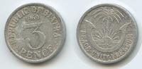Biafra 3 Pence 1969 sehr schön M#3589 - Republic of Biafra Peace Unity F... 38,00 EUR  plus verzending