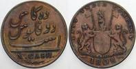 10 Cash 1808 Indien-Britisch Empire 1765-1947. Patina, sehr schön - vor... 28,50 EUR  +  5,00 EUR shipping