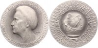 Medicina in nummis Versilberte Bronzemedaille Curie, Marie *1867 Warschau, +1934 Sancellemoz / Savoyen, französische Chemikeri