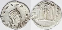 258  Salonina AR Antoninianus/ DEAE SEGETIAE,four-columned temple. vf+  75,00 EUR  +  8,50 EUR shipping