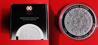 100 Pesos 2015 Mexiko Aztekenkalender - 1k...