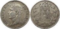 Frankreich 5 Francs Karl X. 1824-1830.