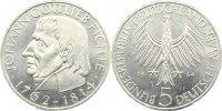5 Mark 1964  J Kursmünzen  kl. Kratzer, vorzüglich  40,00 EUR
