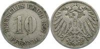 10 Pfennig 1897  G Kleinmünzen  fast sehr schön  15,00 EUR