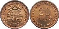 20 Centavos 1949 Mosambik portugisische Kolonie bis 1975. Stempelglanz  15,00 EUR  +  1,50 EUR shipping