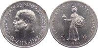 5 Kronen 1962 Schweden Gustav VI. Adolf 1950-1973. kl. Kratzer, vorzügl... 30,00 EUR