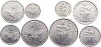 Lot von vier Münzen zu 50 Cent., 1, 2 und 5 Francs 1949 Neu Kaledonien ... 15,00 EUR  +  1,50 EUR shipping
