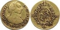 Spanien 1/2 Escudo Carlos III. 1759-1788.