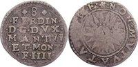 Italien-Mantua 8 Soldi Ferdinand 1612-1626.
