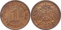 1 Pfennig 1911  G Kleinmünzen  vorzüglich - Stempelglanz  13,00 EUR  +  1,50 EUR shipping