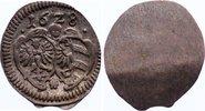 Einseitiger Pfennig 1628 Nürnberg, Stadt  leichter Bug, sehr schön +  90,00 EUR