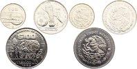 Drei Münzen zu 25, 50 und 100 Pesos 1 1985 Mexiko Zweite Republik seit ... 35,00 EUR