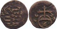 Kipper Cu 6 Pfennig 1622 Sachsen-Altenburg Johann Philipp und seine dre... 50,00 EUR