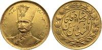 Toman 1297 AH Iran Nasredin 1848-1896 AD. Gold, leichte Prägeschwäche, ... 195,00 EUR