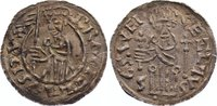 Denar 1037-1055 Böhmen Bretislaw I. 1037-1055. min. Einriß, fast vorzüg... 275,00 EUR
