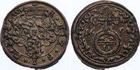 6 Pfennig 1691 Sachsen-Römhild Heinrich III. 1680-1710. übliche kl. Ste... 375,00 EUR