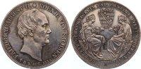 Doppeltaler 1854 Sachsen-Albertinische Linie Friedrich August II. 1836-... 525,00 EUR
