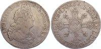 1/2 Ecu aux 8L 1704  A Frankreich Ludwig XIV. 1643-1715. fast sehr schön  85,00 EUR  +  4,50 EUR shipping