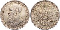 3 Mark 1913  D Sachsen-Meiningen Georg II. 1866-1914. fast vorzüglich  175,00 EUR  +  4,50 EUR shipping
