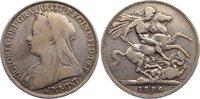 Crown 1896 Großbritannien Victoria 1837-1901. fast sehr schön  35,00 EUR  +  4,50 EUR shipping