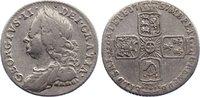 Sixpence 1757 Großbritannien George II. 1727-1760. kl. Kratzer, sehr sc... 35,00 EUR  +  4,50 EUR shipping