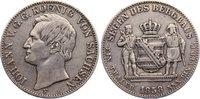 Ausbeutetaler 1858  F Sachsen-Albertinische Linie Johann 1854-1873. kna... 120,00 EUR  +  4,50 EUR shipping