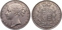 Crown 1845 Großbritannien Victoria 1837-1901. Randfehler, sehr schön  175,00 EUR  +  4,50 EUR shipping