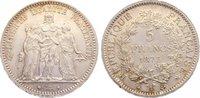 5 Francs 1873  A Frankreich Dritte Republik 1870-1940. kl. Kratzer, vor... 40,00 EUR  +  4,50 EUR shipping