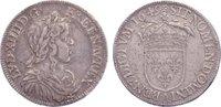 1/2 Écu à la mèche longue 164 1649  A Frankreich Ludwig XIV. 1643-1715.... 130,00 EUR  +  4,50 EUR shipping