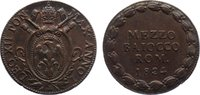Cu 1/2 Baiocco An I / 1824 Italien-Kirchenstaat Leo XII. 1823-1829. fas... 50,00 EUR  +  4,50 EUR shipping