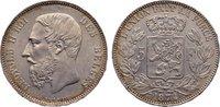 5 Francs 1874 Belgien, Königreich Leopold II. 1865-1909. min. Kratzer, ... 110,00 EUR  +  4,50 EUR shipping