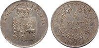 5 Zlote 1831  KG Polen Polnischer Freiheitskampf 1831. leicht justiert,... 595,00 EUR free shipping