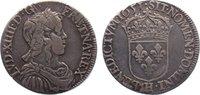 1/2 Écu à la mèche longue 165 1651  H Frankreich Ludwig XIV. 1643-1715.... 195,00 EUR  +  4,50 EUR shipping