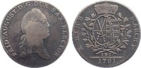 Taler 1781 Sachsen-Albertinische Linie Friedrich August III. 1763-1806.... 90,00 EUR  +  4,50 EUR shipping