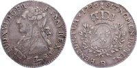 1/5 Écu 1 1786  R Frankreich Ludwig XVI. 1774-1793. justiert, sehr schö... 80,00 EUR  +  4,50 EUR shipping