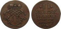 Cu 2 Heller 1745 Hanau-Münzenberg Wilhelm VIII. von Hessen-Kassel 1736-... 30,00 EUR  +  4,50 EUR shipping