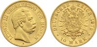 10 Mark 1875  H Hessen Ludwig III. 1848-1877. Gold, sehr schön +  385,00 EUR free shipping