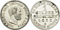 Silbergroschen 1860 A Lippe-Detmold Paul Friedrich Emil Leopold 1851-18... 35,00 EUR  plus 7,00 EUR verzending